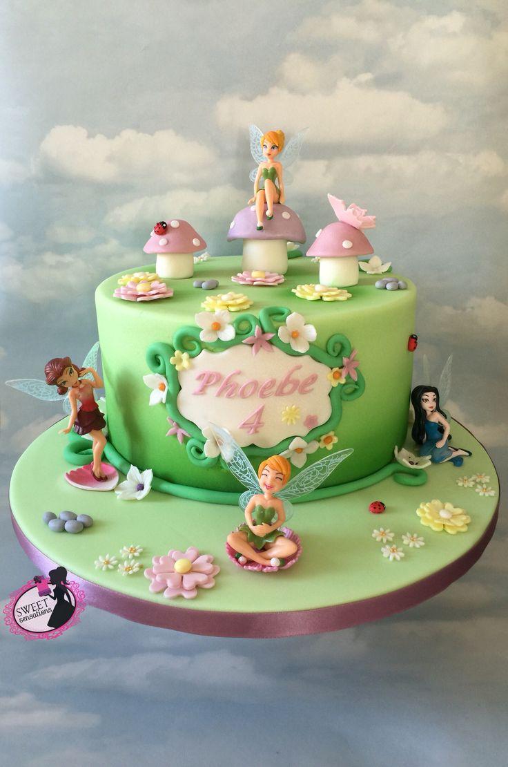 Tinkerbell Cake Tinkerbell Birthday Cakes Fairy