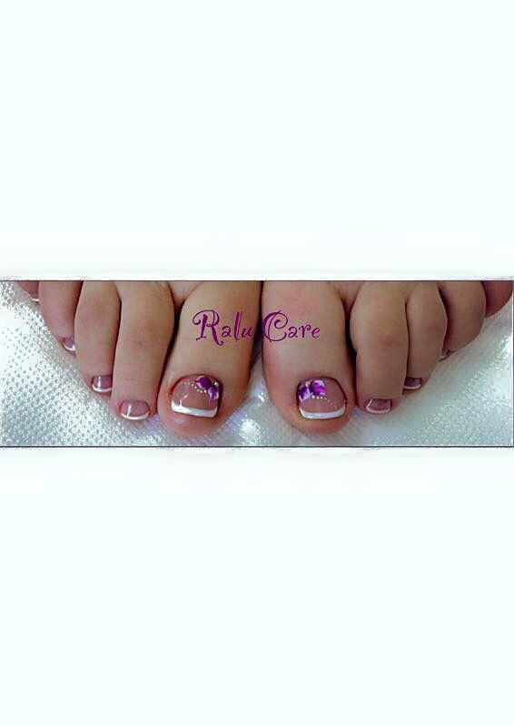 Pedicure belle unghie