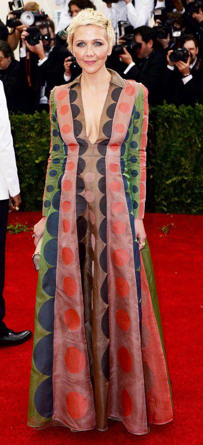 Maggie Gyllenhaal in Valentino - Met Ball 2014