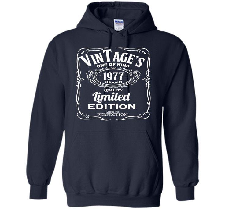 39th Birthday Vintage 1977 Limited Edition T-shirt
