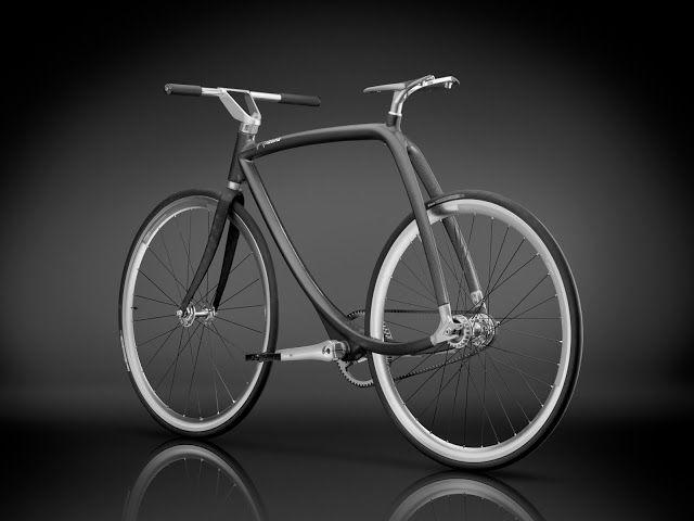FranMagacine: Bicicleta de diseño impecable en fibra de carbono