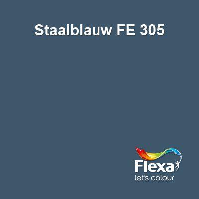 Flexa Expert kleur Staalblauw 305