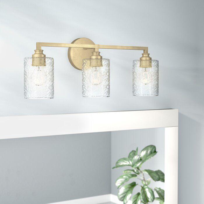 Tera 3 Light Vanity Light In 2020 Vanity Lighting Gold Light