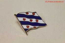 Friese pin vlag
