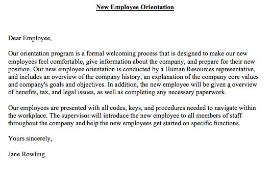 new employee orientation essay Welcome to the mgh institute of health professions the department of human  resources provides a comprehensive institute new employee orientation.