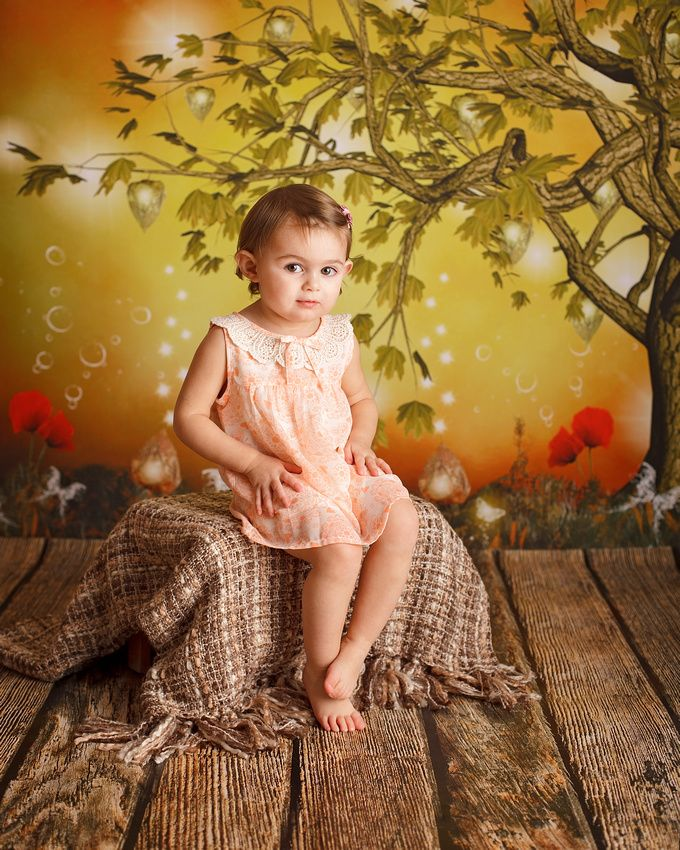 Children's Studio Portrait Session - Portraits by Sarah - Hertfordshire UK