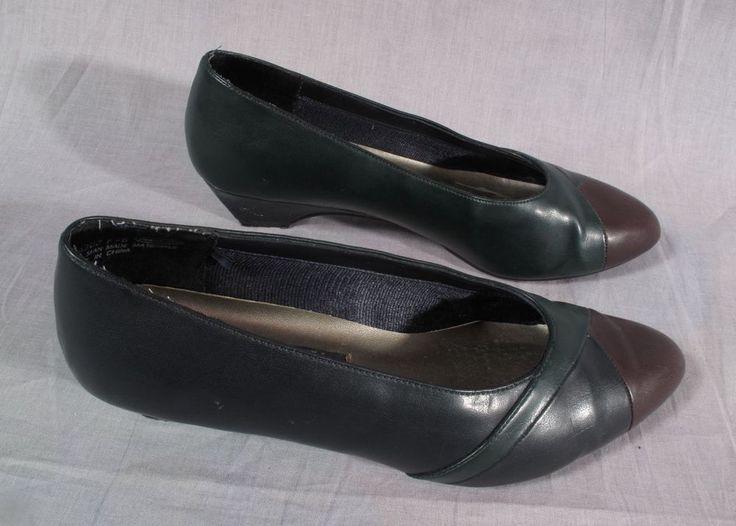 Women's Ashley Taylor Dress Shoes Multi-color Size 8 W Heels Medium #AshleyTaylor #DressShoes