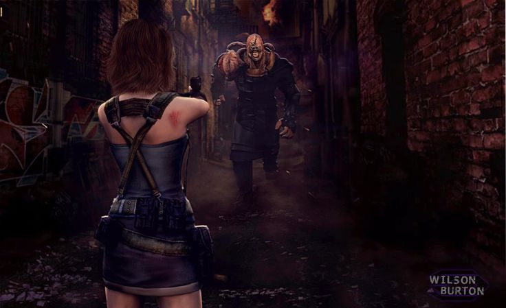 Resident  Evil 3 Remake by wilsonBurton20