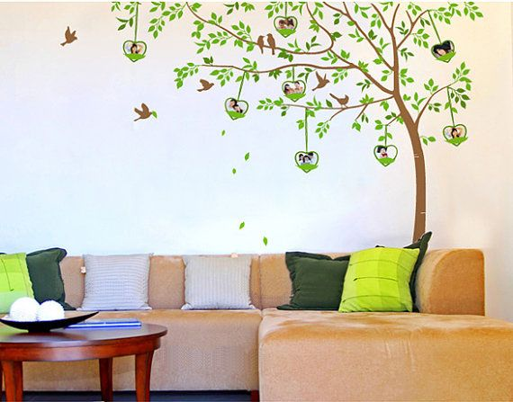 Love House Tree Photo Frame Wall Sticker Part 91