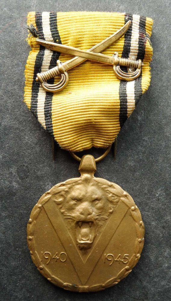 Belgium: Commemorative Medal of the 1940–1945 War | Collectibles, Militaria, WW II (1939-45) | eBay!