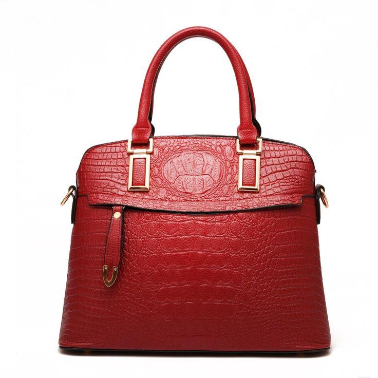 Купить Женщины кожаная сумка люксовый бренд дизайнер сумок высокого качества крокодил кожа на…