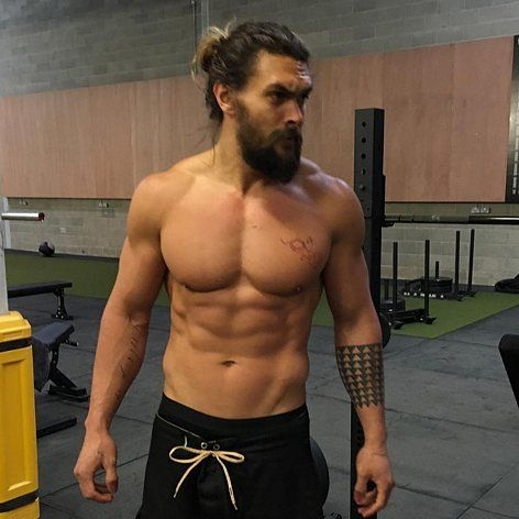 Jason Momoa is a big fan of the shirtless gym selfie, and we are oh so grateful.