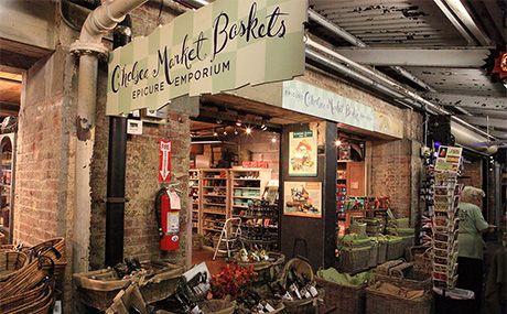 Chelsea Market Baskets / nycgo.com