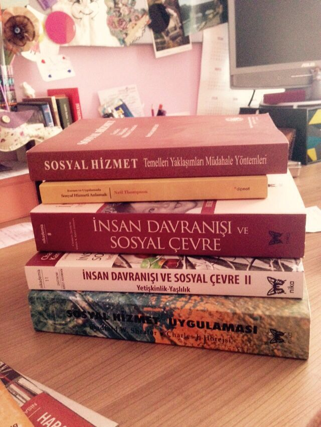 Sosyal Hizmet Kitaplarım #socialworkbookinturkish #socialwork #books #inturkish
