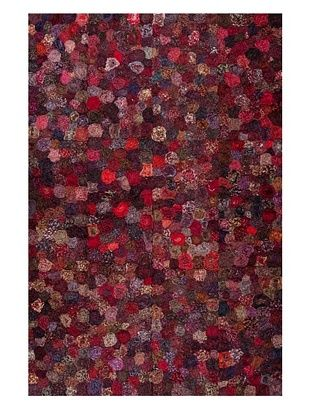 55% OFF Dreamweavers Lotus Rug (Red)