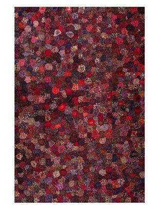 55% OFF Dreamweavers Lotus Rug (Red)