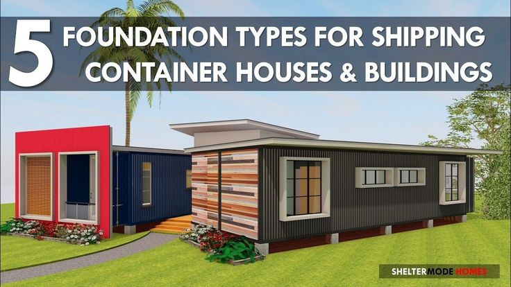 Best 25 shipping container homes ideas on pinterest container homes container houses and sea - Foundation shipping container home ...