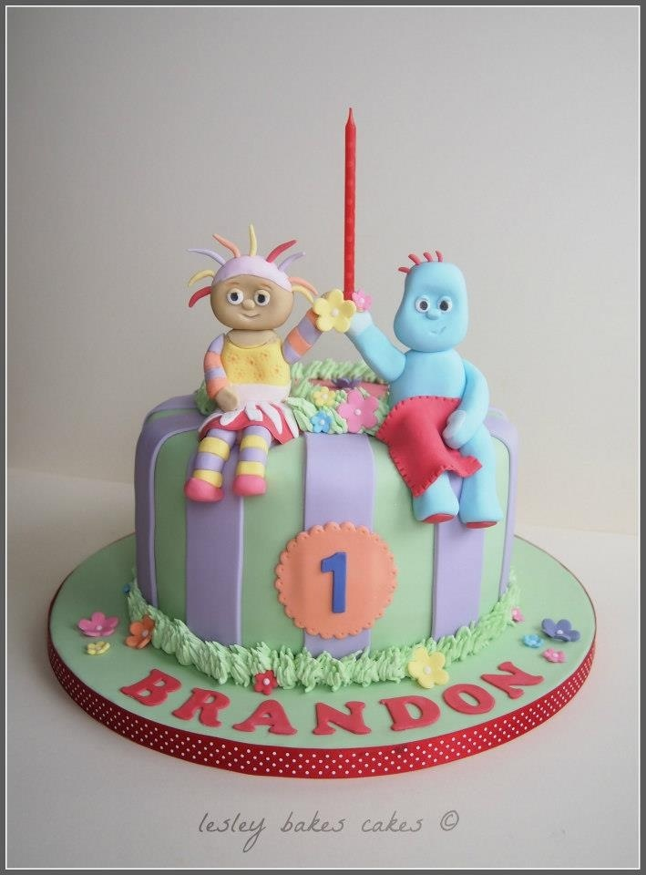 Upsy Daisy Cake Decoration : 17 Best images about Iggle piggle cake on Pinterest ...