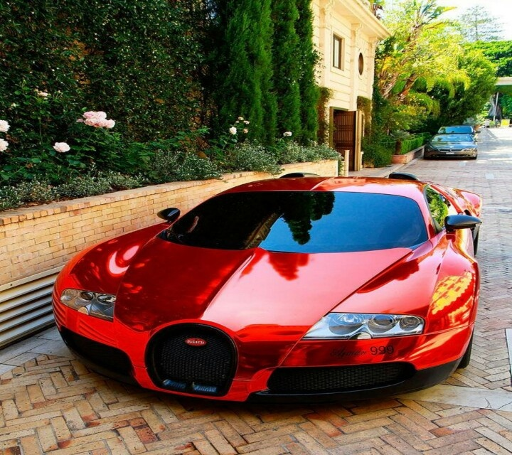 Red Bugatti Veyron   I Want This Car So Much.