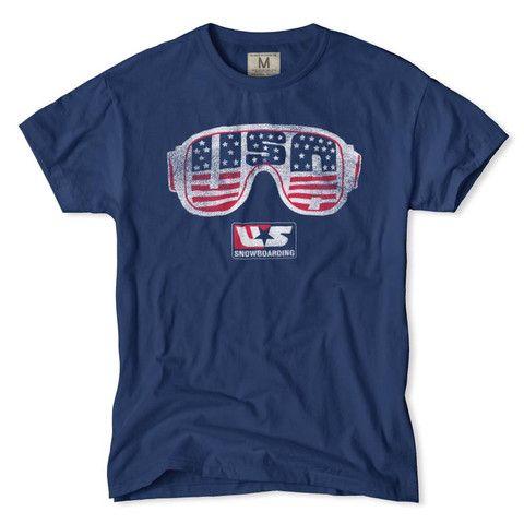"Tailgate ""US Snowboarding Team"" T-Shirt #USA #Olympics #Snowboarding"