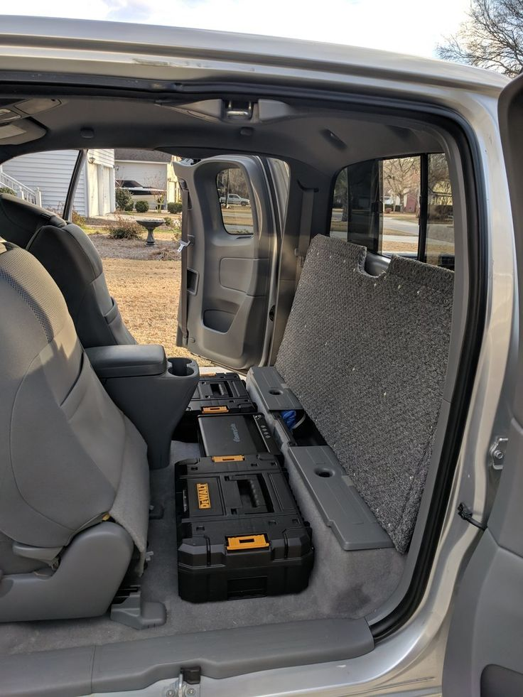 Access Cab Storage Organization in 2020 Access cab
