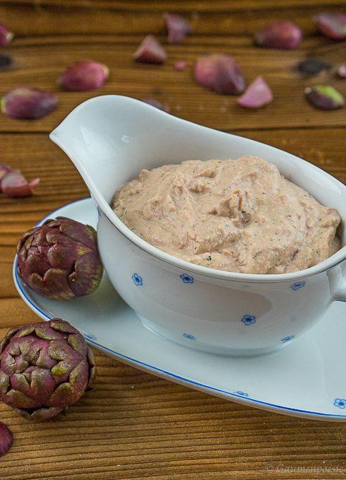 Crema di carciofi. Eine wahnsinnig leckere Artischockencreme. Passt grandios zu frischer Pasta und ist vielseitig einsetzbar.