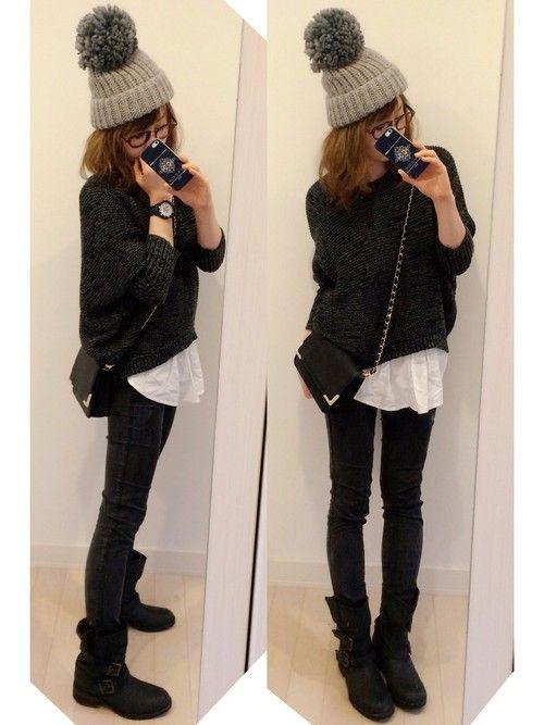 MOUSSYのニット・セーターを使ったchikaのコーディネートです。WEARはモデル・俳優・ショップスタッフなどの着こなしをチェックできるファッションコーディネートサイトです。