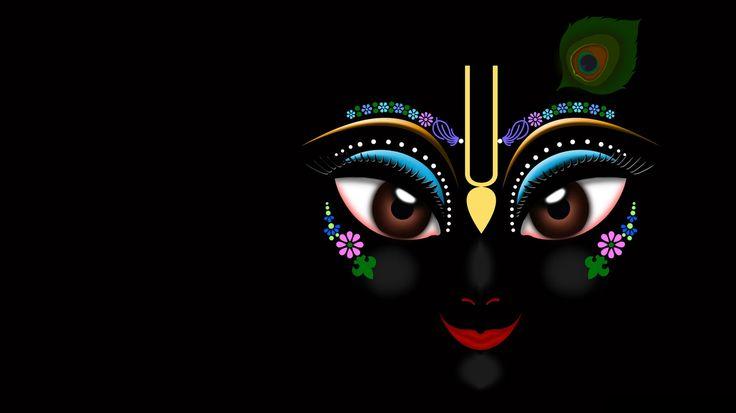 Black Lord Krishna HD Wallpapers Free Download