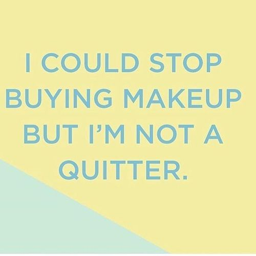 love, quote, and makeup addict image