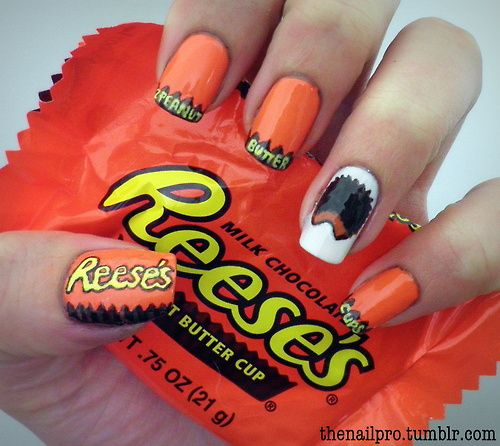 Reese's Peanut Butter Cups lol that's crazy