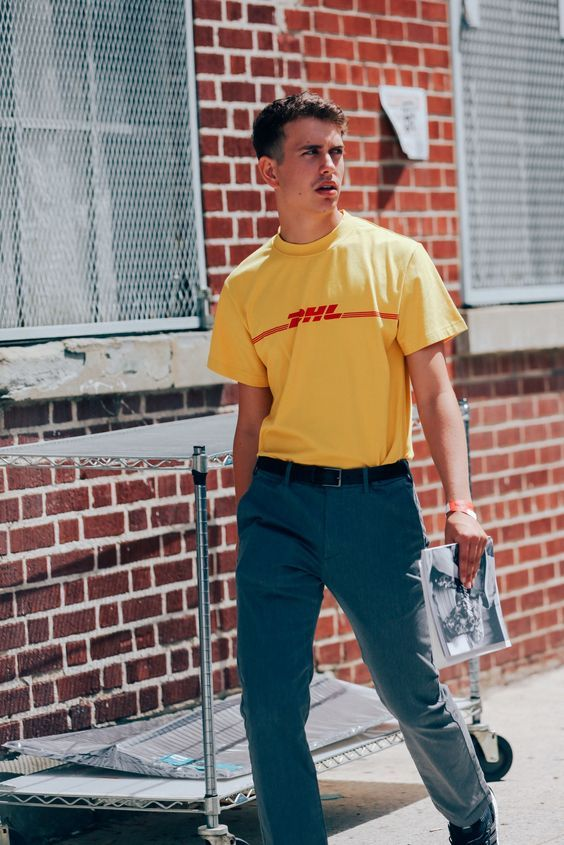 The Best Dressed Men from New York Fashion Week Photos | GQ | DHL Prints