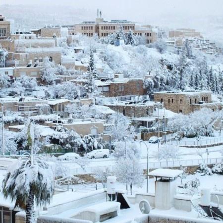 jerusalem-snow #jerusalem