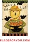 Fall Scarecrow Garden Flag