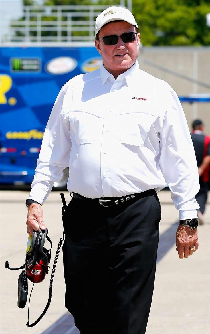 At-track photos: Indianapolis Motor Speedway Sunday, July 23, 2017 Team owner Richard Childress walks through the garage area during practice for the NASCAR XFINITY Series Lilly Diabetes 250 at Indianapolis Motor Speedway on July 21, 2017 in Indianapolis, Indiana. Photo Credit: Sean Gardner/Getty Images Photo: 72 / 77