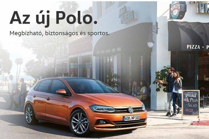 Megérkezett az új Polo!