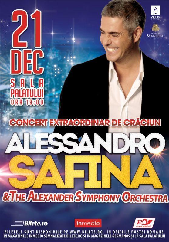 Luni, 21 Decembrie 2015, ora 19:00, Sala Palatului, Bucuresti