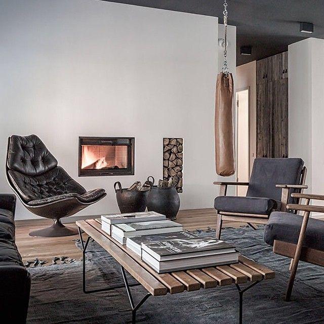 Inspiration vardagsrum med skön inredning och möbler