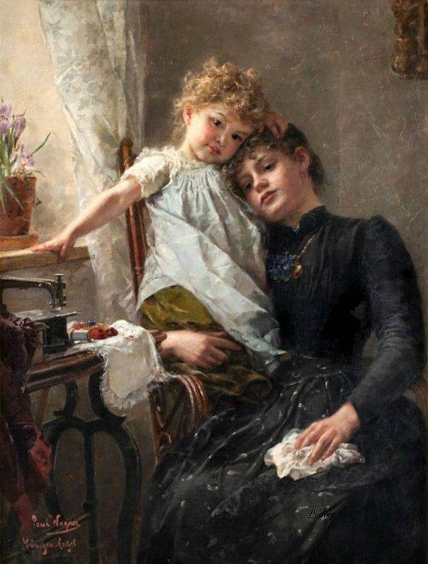 Peinture de Paul Hermann Wagner