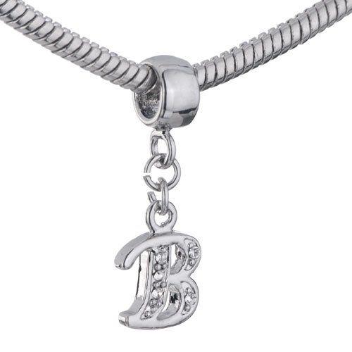pandora charm letter b