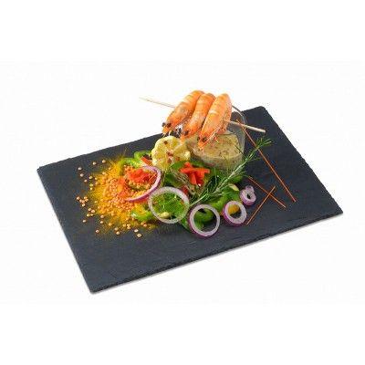 """Résultat de recherche d'images pour """"assiette ardoise pour decorer table pinterest"""""""