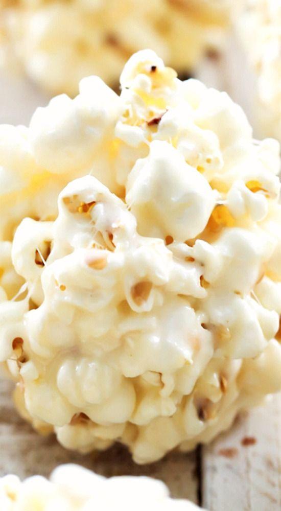 Marshmallow Popcorn Balls.                                                                                                                                                                                 More