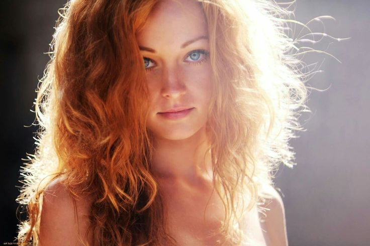 Redhead female character inspiration