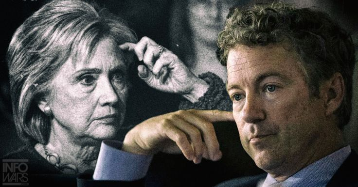 "Rand Paul Grateful for Trump: ""Everyday I wake up and say, 'It could have been Hillary'"""