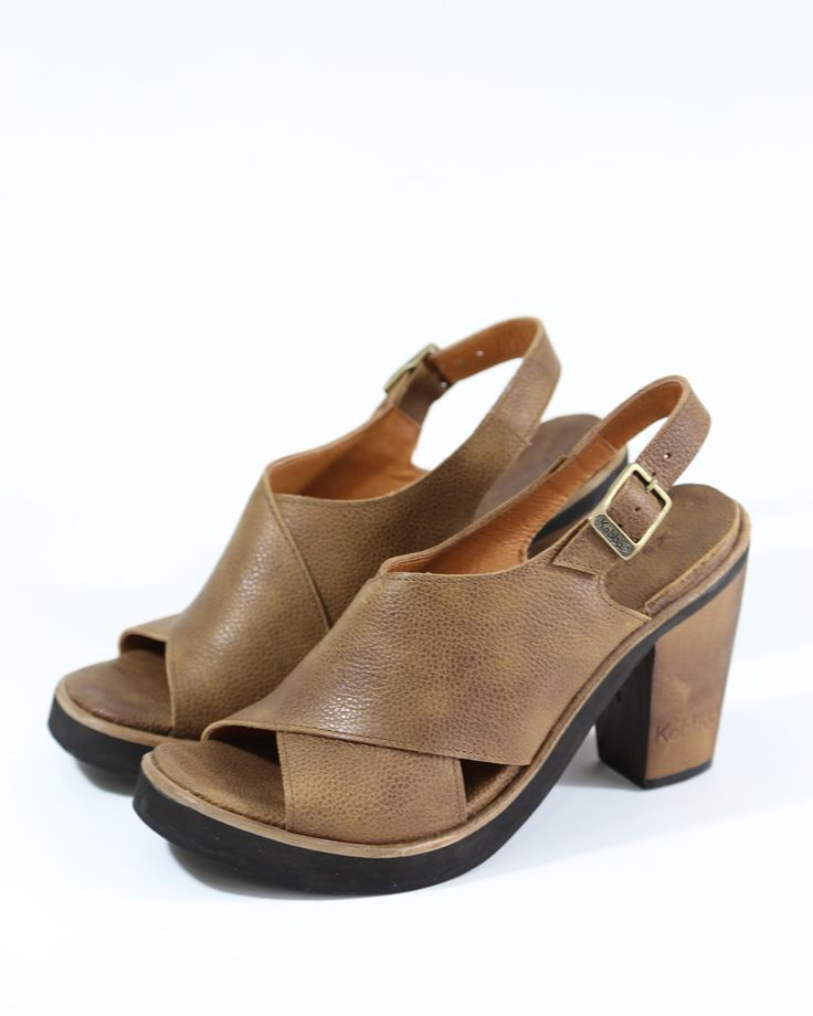 Tomasa Teodora - Floater wax Tofee Kebba Shoes