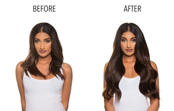 Bambina 160g 20'' Dark Brown Hair Extensions (#2)