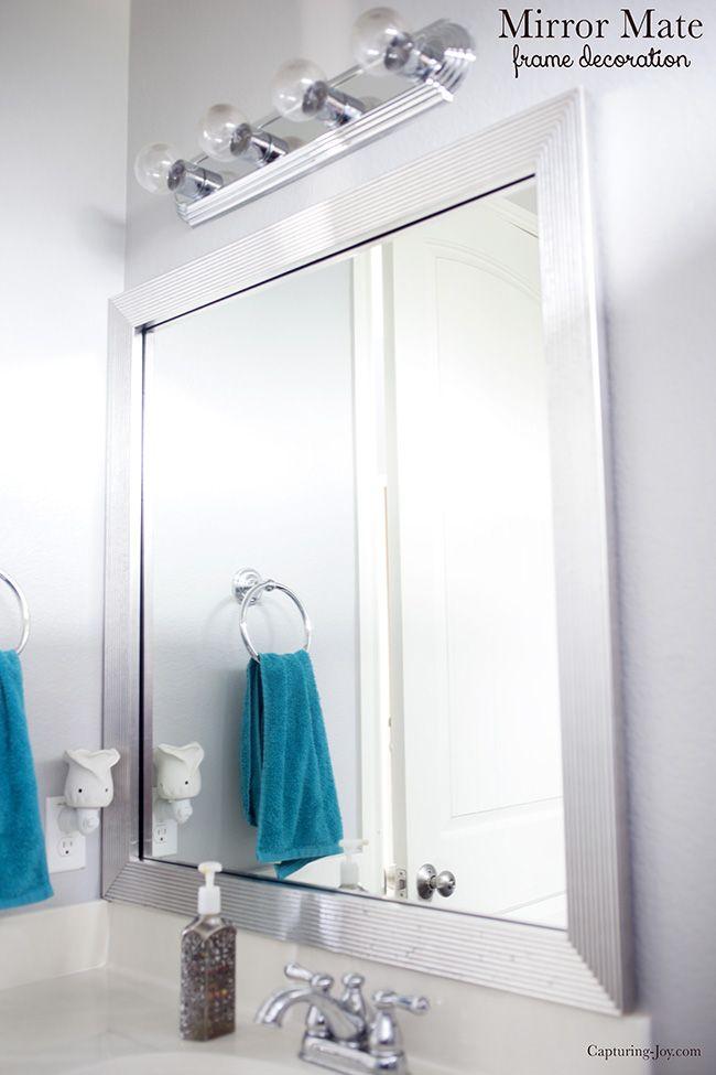Bathroom Mirror Update Ideas 89 best design & diy blogger makeovers images on pinterest