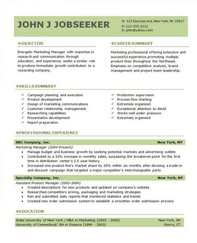 7 best Resume Template Open Office images on Pinterest Free open - free open office resume templates