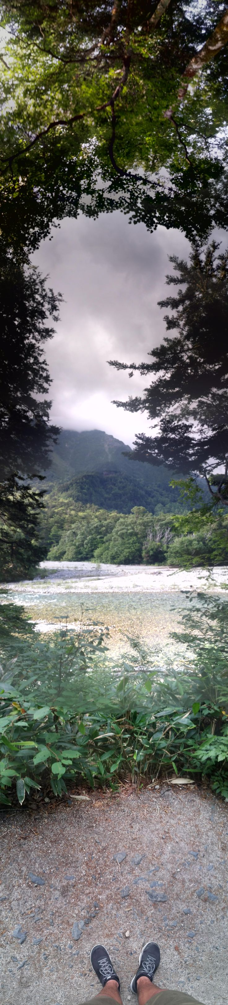 A panorama pic I took hiking in Kamikochi Japan #hiking #camping #outdoors #nature #travel #backpacking #adventure #marmot #outdoor #mountains #photography