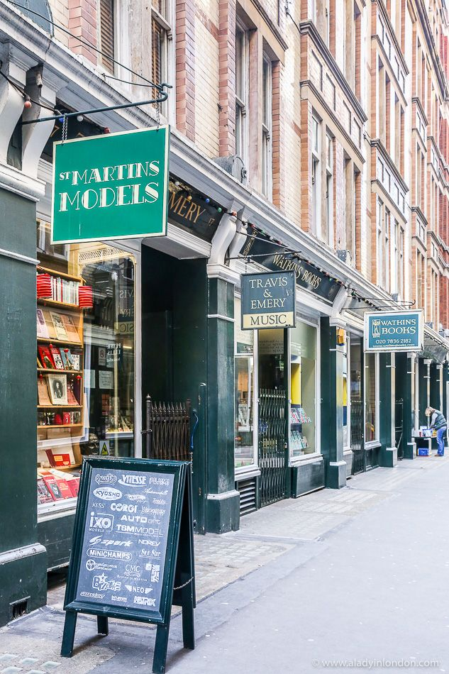 Cecil Court in London's Covent Garden is one of the most famous places for books in London.  #books #london