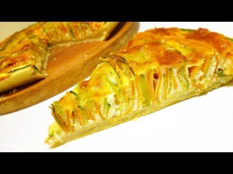 Пирог с морковкой и кабачком - пошаговый рецепт с фото на Повар.ру